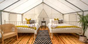 $7000 & Safari Tent On-Site Lodging -